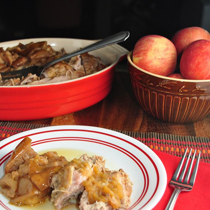 Autumn Apple Pork Roast