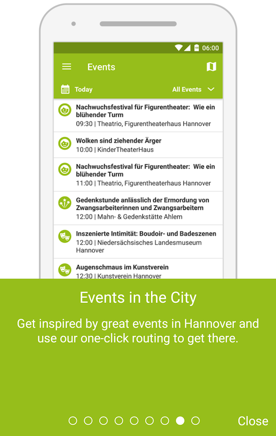 MyHannover- screenshot