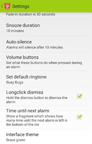android Clever Alarm Screenshot 6