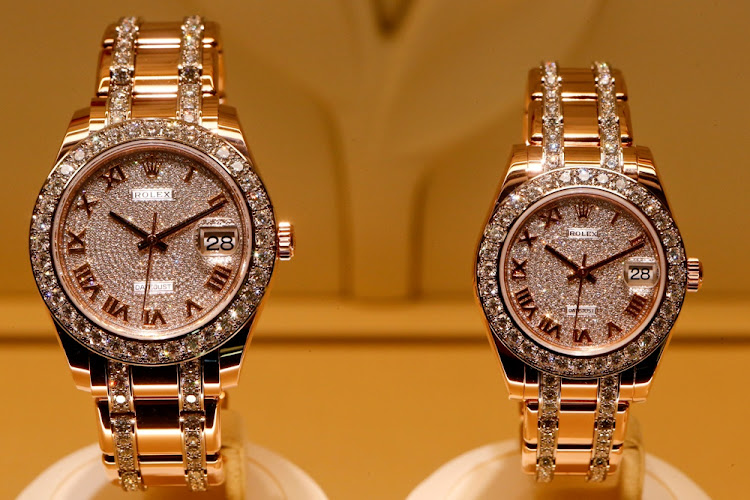 Rolex watches. Picture: REUTERS
