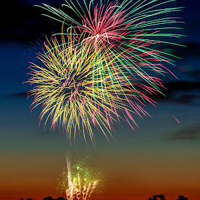 Colors by Madhujith Venkatakrishna - Abstract Fire & Fireworks