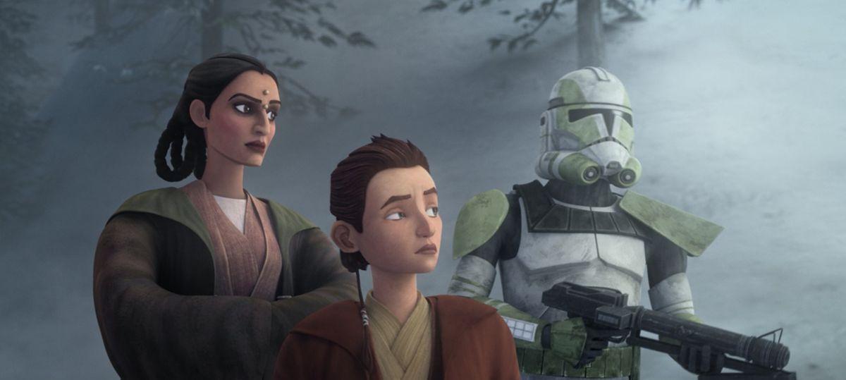 Star Wars: The Bad Batch episode 1 retcons a key Jedi's story - Polygon