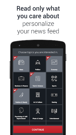 Anews: all the news and blogs 4.0.67 screenshots 2