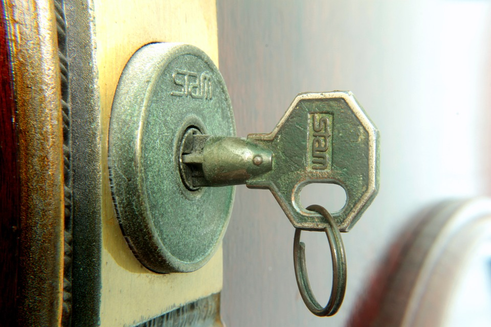 Key, Lock, Open, Opening, Door