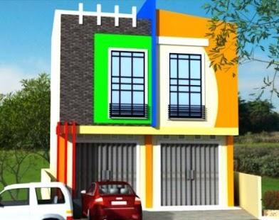 Store house design - náhled