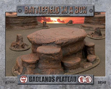 Badlands Plateau - Mars (x1) - 30mm