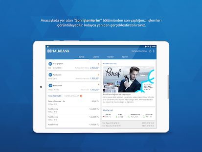 Halkbank Mobil- screenshot thumbnail