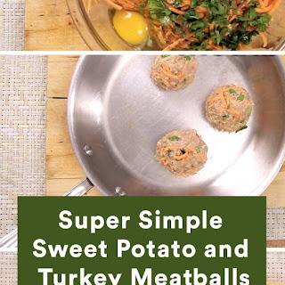 Sweet Potato and Turkey Meatballs