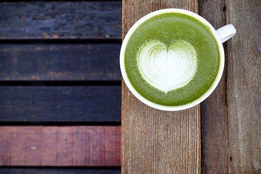 Matcha Powder, Latte, Green, Japanese
