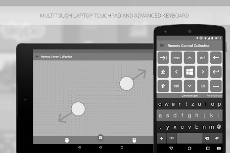 Mouse & Keyboard Remote - screenshot thumbnail