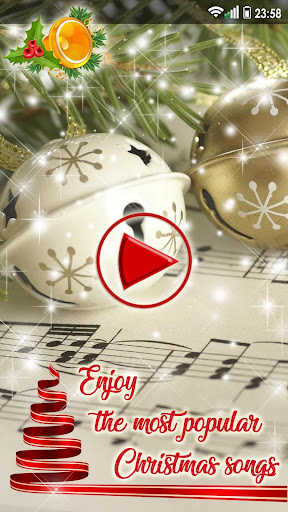 Christmas Songs Live Wallpaper with Music ud83cudfb6 2.8 screenshots 7