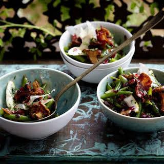 Pear, Bean and Bacon Salad.