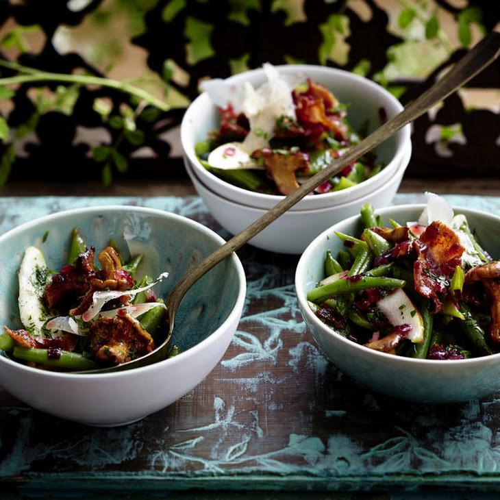 Pear, Bean and Bacon Salad