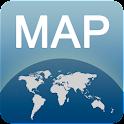Mapa de Alicante offline icon