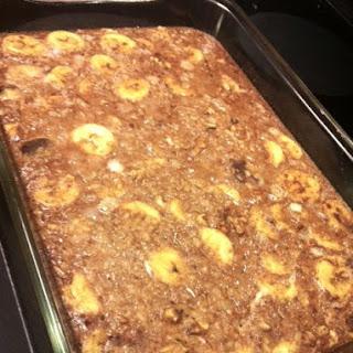 Banana Walnut Breakfast Bake Recipe