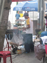Photo: one of the many street carts