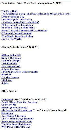 whitney houston lyrics whitney houston lyrics - Whitney Houston Have Yourself A Merry Little Christmas