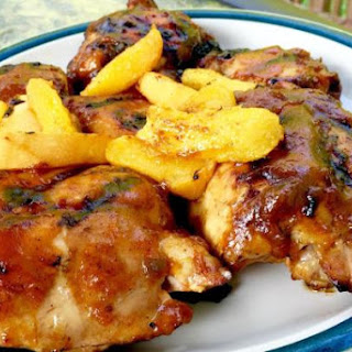 Peach Mango Grilled Chicken By Nor
