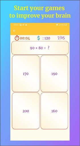 Math Games - Math Quiz 2.7 screenshots 7