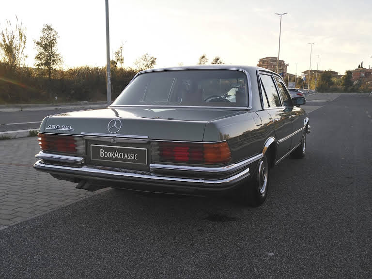 Mercedes Benz 450 Sel Hire Roma