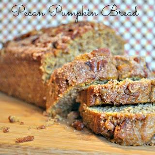 Pecan Pumpkin Bread.