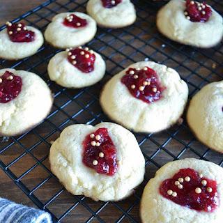 Jam Thumbprint Cookie