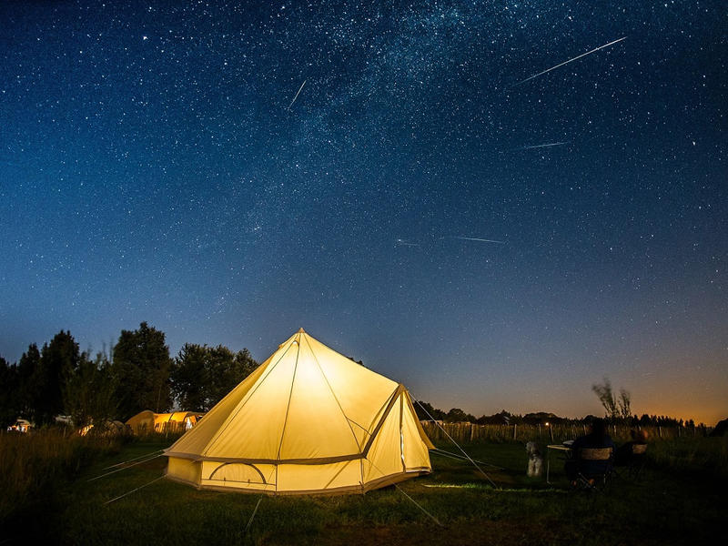 Stargazing near me The Netherlands Campspace