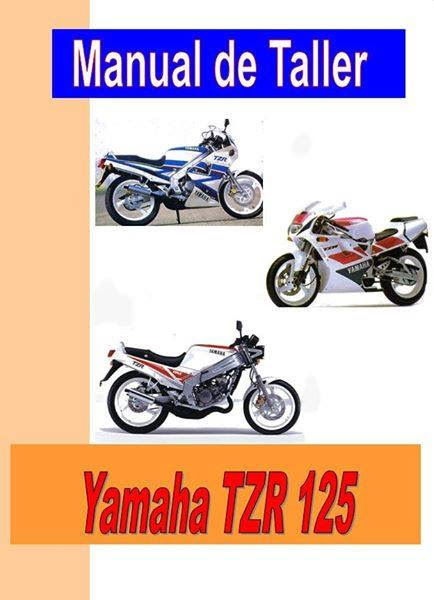 Yamaha TZR 125-manual-taller-despiece-mecanica