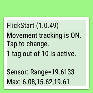 FlickStart- screenshot