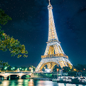 The Eiffel Tower in Paris icon