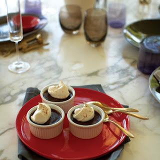 Chocolate-Nutmeg Pots de Crème