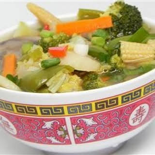 Chinese Vegetable Soup Recipes.