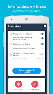 ScreenMaster aquí: pantallazo & nota, corte, edición 1