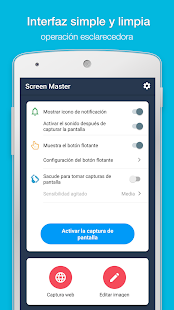ScreenMaster: pantallazo & nota, corte, edición Screenshot