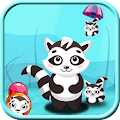 Save Racoon - Bubble Shooter
