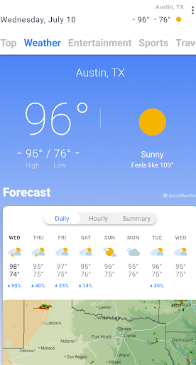 NewsHub - News & Weather ss2
