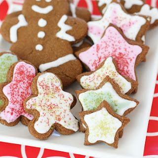 Whole Wheat Gingerbread Cookies {Dairy Free} plus HUGE Baking Giveaway!.