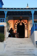 Photo: Sidi bou Said, beautiful in the evening light.