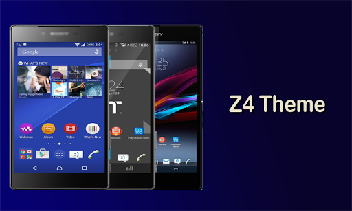 Z4 Theme and Launcher