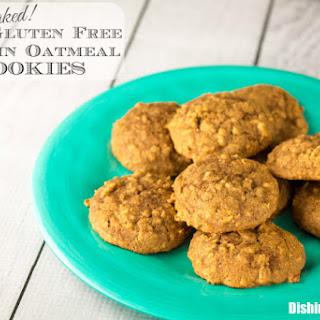 Soft Baked Gluten Free Pumpkin Oatmeal Cookies