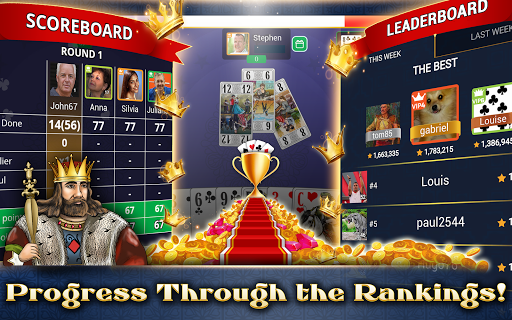 VIP Tarot - Free French Tarot Online Card Game 3.6.17 screenshots 20