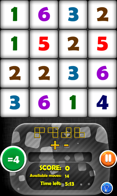 Arithmetics Puzzle 4 Kids Free - screenshot