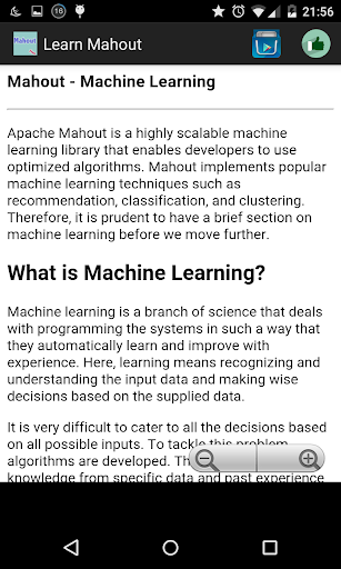 Learn Mahout