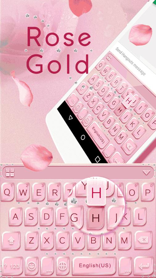 Rose-Gold-Emoji-Kika-Keyboard 6