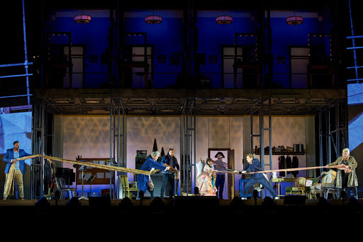 """San Francisco Opera Stages """"The Barber of Seville"""" Outdoors"""