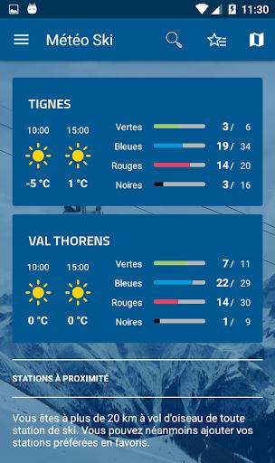 Mu00e9tu00e9o-France Ski et Neige 3.0.5 screenshots 8