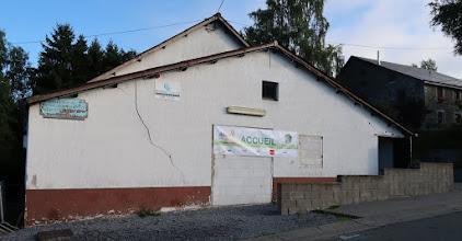 Photo: Salle Aurore des Fontaines : travaux de rénovation en cours.