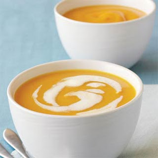 Jalapeño-Ginger Butternut Squash Soup.