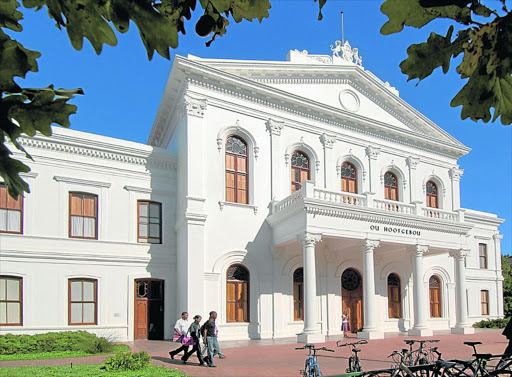 Almost 20% of economic activity in Stellenbosch stems from the university.