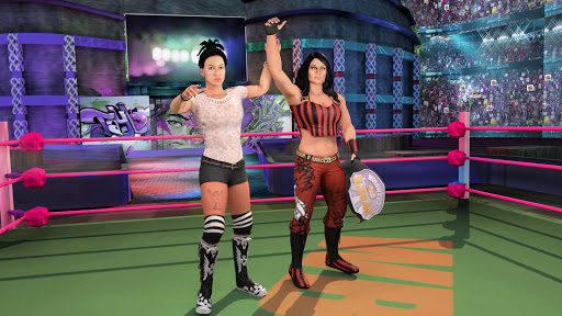 Bad Girls Wrestling Rumble: Women Fighting Games apktram screenshots 4